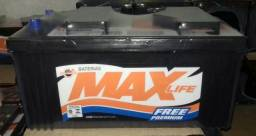 Bateria max 170 ahp 1 ano de garantia,a base de troca,entrega gratis