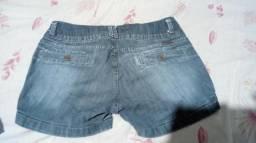 Short 40 blusa de bojo M