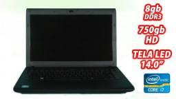 Notebook Intel Core I7 2670qm / HD 750gb / 4gb DDR3 / Windows 7 Ultimate