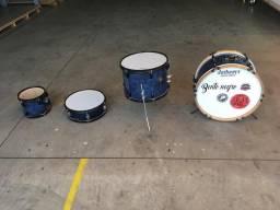 Jogo de tambores para bateria