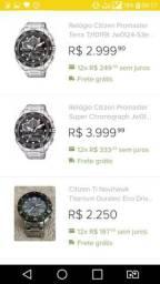 Citizen eco drive jw0124-53e / tz10119t super chronograph