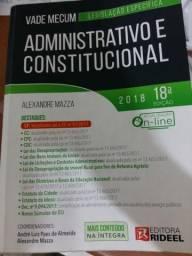 Vade Mecum usado / Direito Constitucional / 2018 ? 18ª edição / Rideel / Alexandre Mazza ?