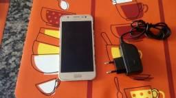 Celular Samsung J5 duos 16gb dourado