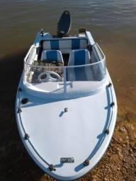 Lancha Motorboat 25 hp Yamaha - 2001