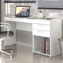 Escrivaninha/Mesa para Escritório Office com 2 Gavetas Ébano