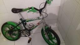 Bicicleta aro 16 para menino