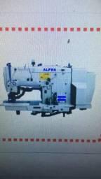 Máquina de costura caseado industrial completa