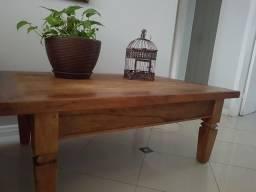 Mesa rústica madeira de demolição original
