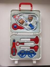 Kit médico de brinquedo