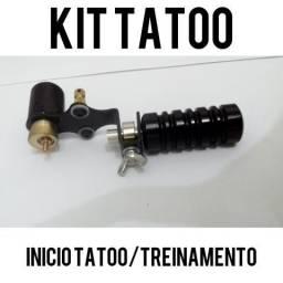 Kit tatoo iniciante/novo/treino