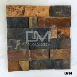 Mosaicos Pedra Ferro (ferrugem)