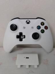 CONTROLE XBOX ONE S + BATERIA