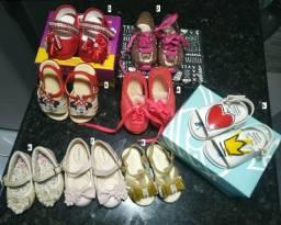 Sapatos infantis Tamanhos 17/18 a 20