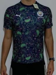 Manchester City - Uniforme Camisa 2020/2021 - Envio por Correios (Sedex)