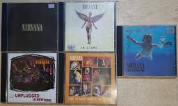 Pacote 5 CDs Nirvana - Raridade