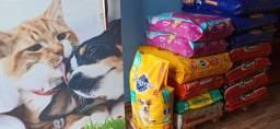 Rações para cães e gatos (o mais barato)