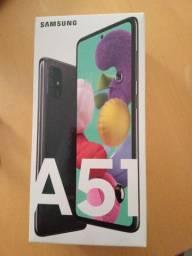 Smartphone Samsung A51 na caixa lacrada