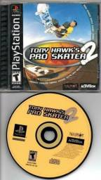 Jogo Tony Hawk's pro skater 2 ps1