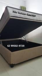 Cama Box Báu Casal Inteiro ( Informações no *