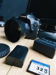 Canon 7D com cartão CF 32gb mais acessórios