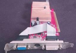 Placa de Video MSI Nvidea Gforce 6200 Turbo Cache 128Mb PCI Express x16