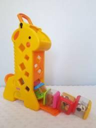 Girafa Com Blocos - Fisher Price<br><br>