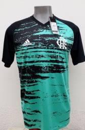 Camisa pré jogo do Flamengo