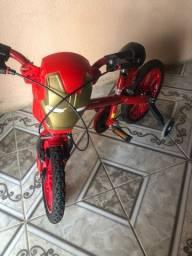 Bicicleta infantil - homem de ferro