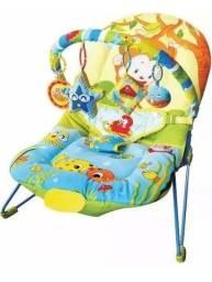 Cadeirinha para bebê musical selva dican