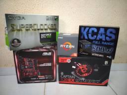 Vendo ou troco kit Ryzen 5 completo.
