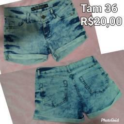 Vendo Short R$20,00