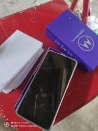 Motorola one hyper 128GB com nota fiscal só tem 3 mês uso $ 1.450 cartão 1.500