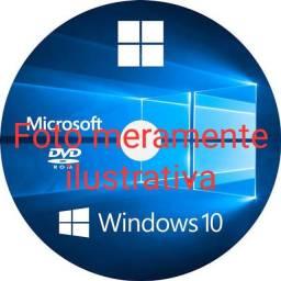 Dvd para instalação e formatação do seu computador e notebook com ativador