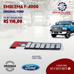 EMBLEMA F-4000 ORIGINAL FORD