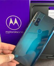 Moto One Hyper 128GB Lacrado+Nota.