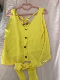 Blusinhas infantil tamanho 10 Novas
