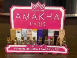 Vendo perfumes importados de ótima qualidade de AMAKHA Paris.