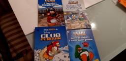 Coleção de livros Club Penguin