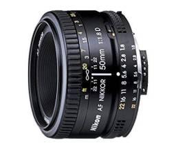 Lente Nikon 50mm f1.8