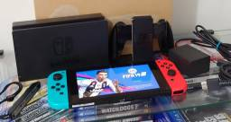Nintendo Switch 32GB Neon / Da Pra Desbloquear / Troco / Parcelo