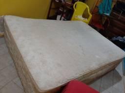 Vendo cama box usada 50 reais