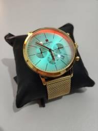 10X Sem Juros Relógio Reward novo genuíno Casual de Luxo