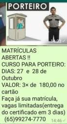 CURSO RÁPIDO PARA PORTEIRO