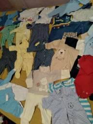 Lote bebê menino RN e P