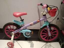 Bicicleta infantil aro 16 Frozen Disney