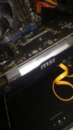 Placa de Vídeo msi GTX 750 ti de 2gb