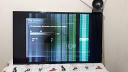 """TV 55"""" Samsung - LCD - Modelo UN55EH6030G -Com Defeito"""