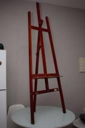 Cavalete para pintura 150cm madeira