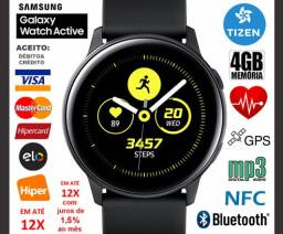 Smartwatch Galaxy Watch Active 40mm 4GB Tizen, GPS, Bluetooth, Novíss, Cx, NF, Garantia