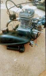 Motor de bicicleta 300,00 para sair rápido